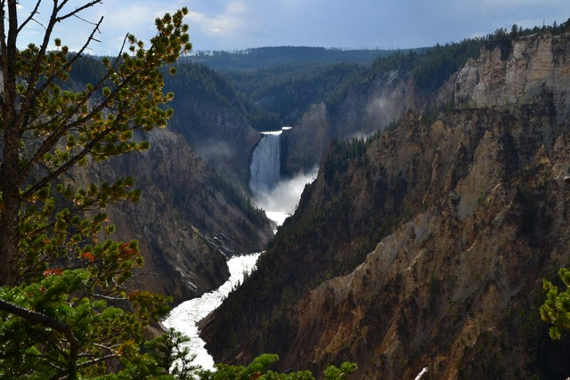 Cascadas de Yellowstone