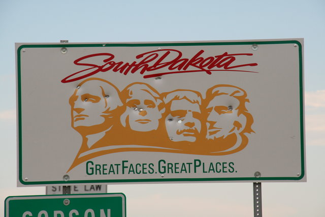 Cartel de Dakota del Sur