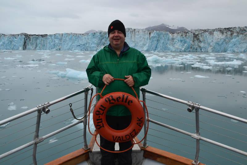 Frente al glaciar Columbia, Alaska